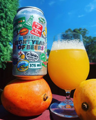 Green Beacon Eight Years of Beers Mango Sour Ale