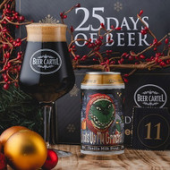 Beer Cartel Advent Calendar Day 11: All Inn What's Up My Grinches Vanilla Milk Stout⠀
