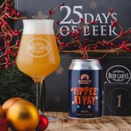 Woohoo! Beer Cartel Advent Calendar Day 1 is here: Mountain Culture Yippee Ki Yay NEIPA