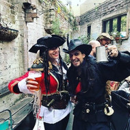 These legends are enjoying the kickoff to The Quarryman Hotel's @sydney_beer_week event Pork & Pirates 2017!