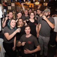 Did you get to the @waywardbrewing and @akashabrew collab last night!?