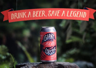 Available for a limited time: Moo Brew / Wilderness Society Giant Lobster Ale