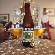 It's day 4 of our Beer Advent Calendar! Today it's Tuatara Mot Eureka New Zealand Pilsner .