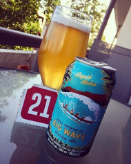 It's day 21 of our Beer Advent Calendar! Today it's Kona Big Wave.