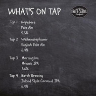 ​Now pouring on Growlers @ Beer Cartel HQ for the long weekend