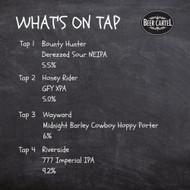 ​Now pouring on Growlers @ Beer Cartel HQ