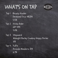 Now pouring on Growlers @Beer Cartel HQ