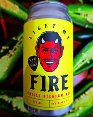 Six String Light My Fire Chilli Belgian Pale Ale