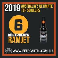 NUMBER 6 in Australia's Ultimate Top 50 Beers for 2019: Boatrocker Ramjet
