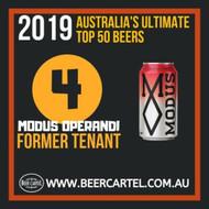 NUMBER 4 in Australia's Ultimate Top 50 Beers for 2019: Modus Operandi Former Tenant