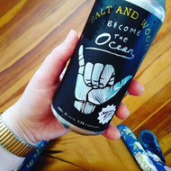 North End Salt and Wood Become the Ocean Gose⠀