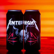 PRE ORDER NOW AVAILABLE: Enter Night Pilsner. Collab between Metallica x Arrogant Bastard aka Stone.