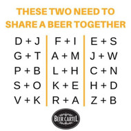 Let your buddy know it's time to catch up for a beer!