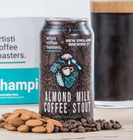 New England Almond Milk Coffee Stout⠀