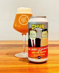 Chur Joey and Chandler Hazy Hop Buddies IPA⠀