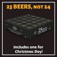 A traditional advent calendar has 24 items, but we wanted to make sure you had a beer for Christmas Day. That's why our box features 25 different beers, not 24.