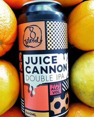 8 Wired Juice Cannon Double IPA⠀