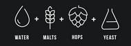 The 4 Magic Ingredients of Beer: Water, Malts, Hops & Yeast