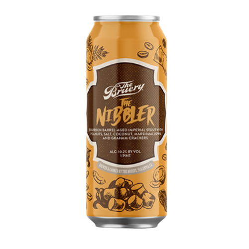 The Bruery Nibbler Bourbon Barrel Aged Imperial Stout 470ml Can
