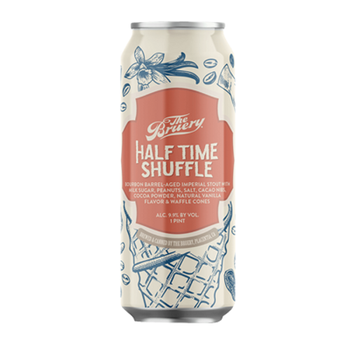 The Bruery Half Time Shuffle Bourbon Barrel Aged Imperial Stout 470ml Can