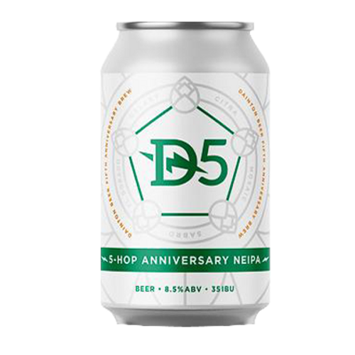 Dainton 5-Hop Anniversary NEIPA 355ml Can