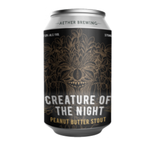 Aether Creature of the Night Peanut Butter Stout 375ml Can