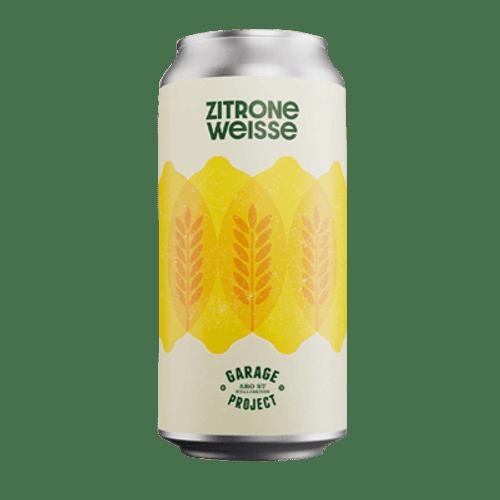 Garage Project Zitrone Weisse Citrus German Wheat Beer 440ml Can