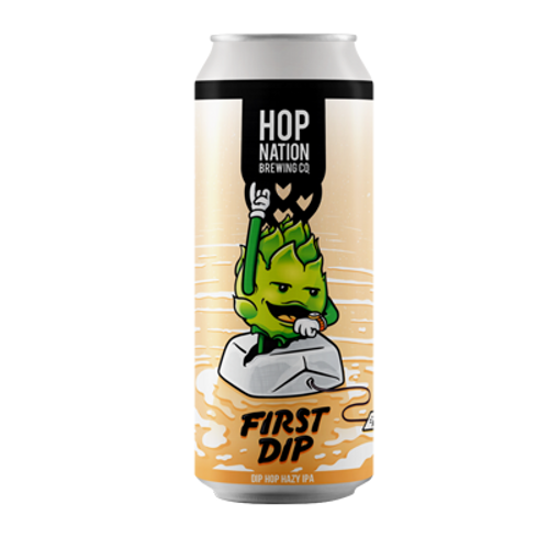 Hop Nation First Dip Hazy IPA 440ml Can