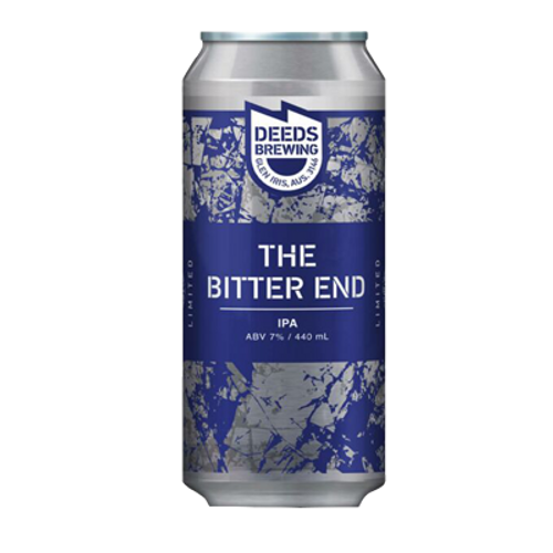 Deeds The Bitter End West Coast IPA 440ml Can