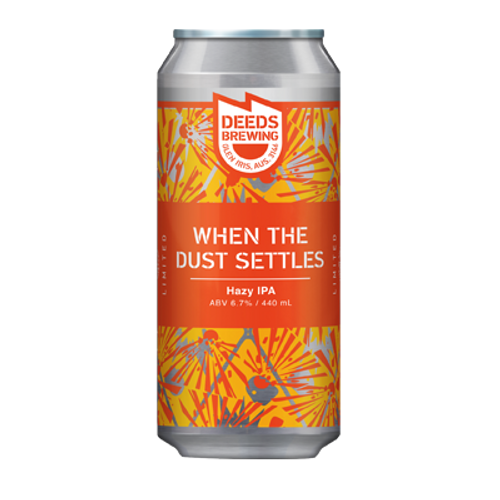 Deeds When The Dust Settles Hazy IPA 440ml Can
