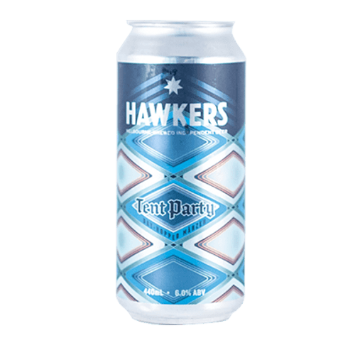 Hawkers Tent Party Dry Hopped Marzen 440ml Can