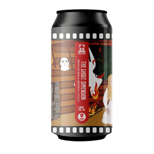 Brew York Ghost Dimension Imperial Stout 440ml Can