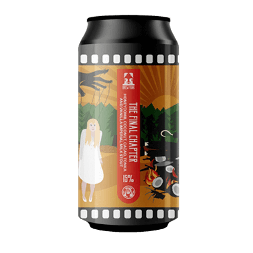 Brew York Final Chapter Imperial Stout 440ml Can