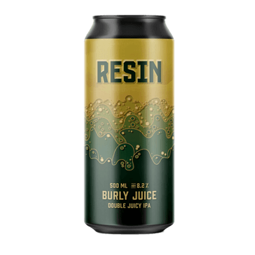 Resin Burly Juice Double IPA 500ml Can