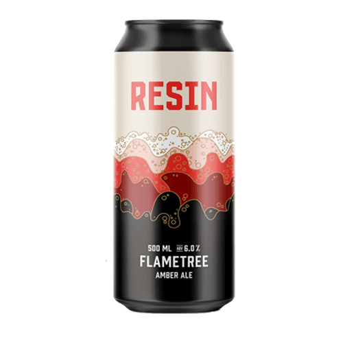Resin Flame Tree Amber Ale 500ml Can