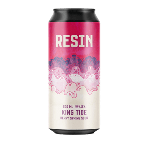 Resin King Tide Berry Spring Sour Ale 500ml Can