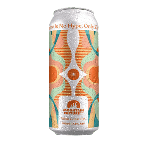 Mountain Culture There Is No Hype, Only Zuul West Coast IPA 500ml Can