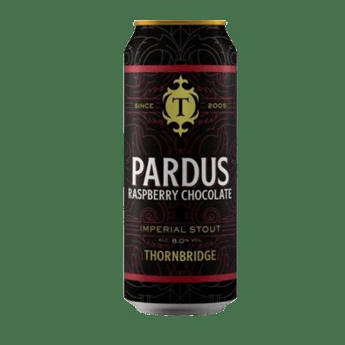 Thornbridge Pardus Raspberry Chocolate Imperial Stout 440ml Can