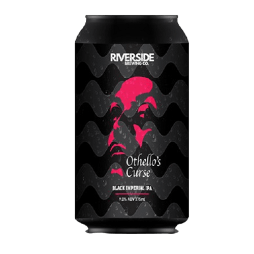 Riverside Othello's Curse Black Imperial IPA 375ml Can