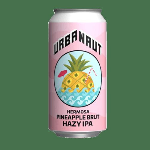 Urbanaut Brewing Hermosa Pineapple Brut Hazy IPA 440ml Can