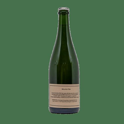 Wildflower Mountain Rye Wild Ale 750ml Bottle