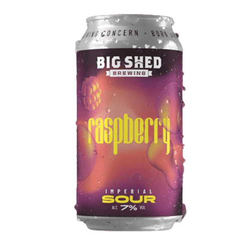 Big Shed Imperial Raspberry Sour Ale 375ml Can