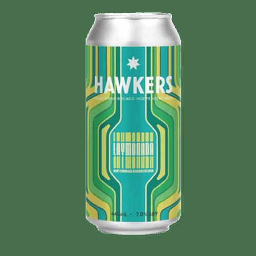 Hawkers Laymonada Mint Lemonade Rosewater Sour 440ml Can