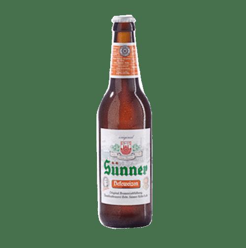 Sunner Weissbier Hefeweizen 330ml Bottle