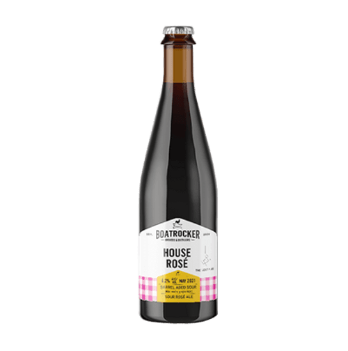 Boatrocker House Rose Sour Ale 500ml Bottle