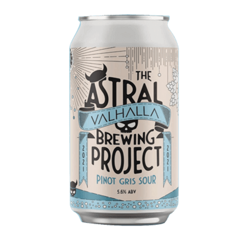 Valhalla/Loophole Astral Project Pinot Gris Sour Ale 375ml Can