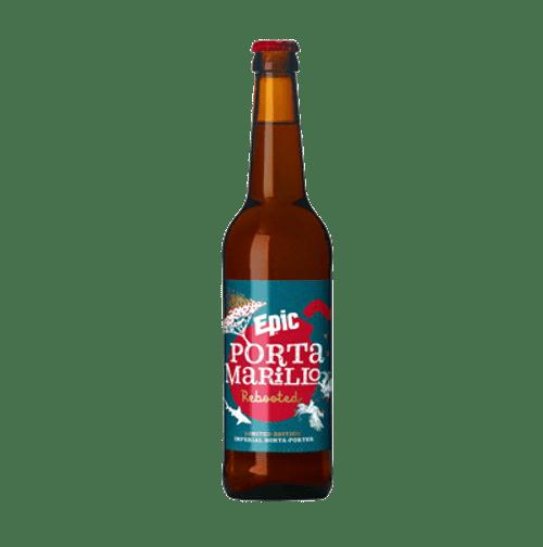 Epic Portamarillo Rebooted Imperial Sorta-Porter Smoked Imperial Porter 500ml Bottle
