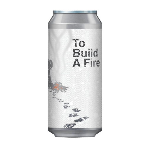 Deeds To Build A Fire Bourbon Barrel Aged Imperial Stout 440ml Can