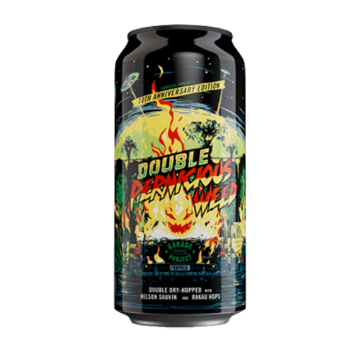 Garage Project Double Pernicious Weed 10th Anniversary Imperial IPA 440ml Can