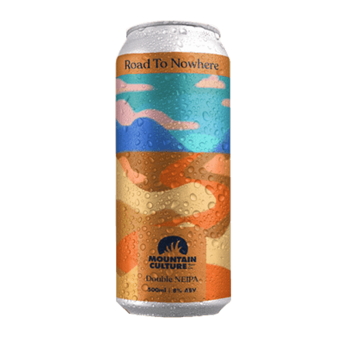Mountain Culture Road to Nowhere Double NEIPA 500ml Can
